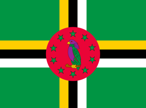 Dominica   Welke landen hebben de gekste vlaggen?